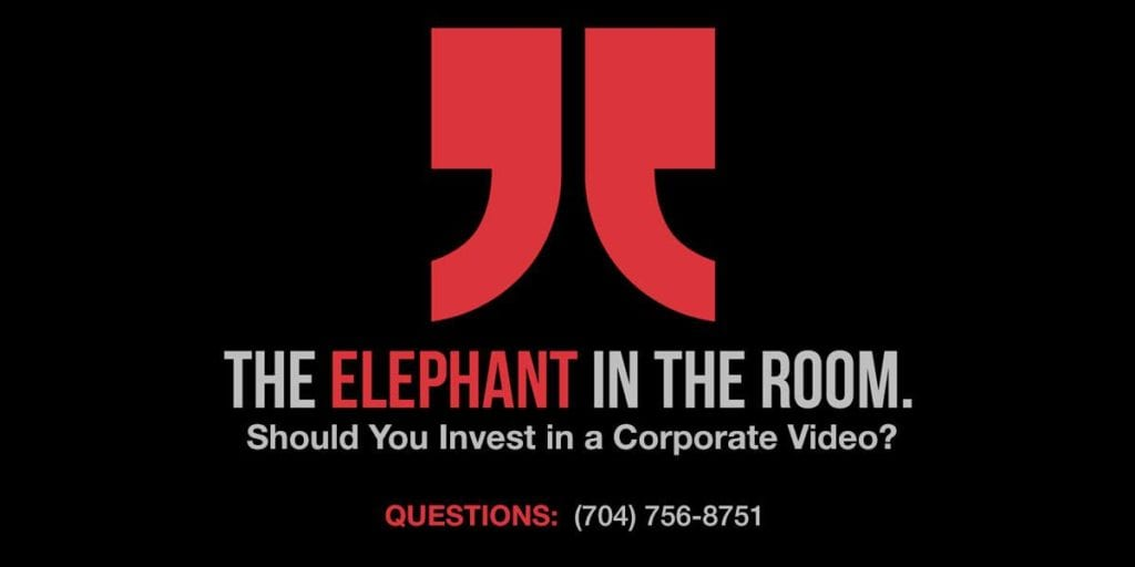 The Elephant in the Room. Should your company do video?