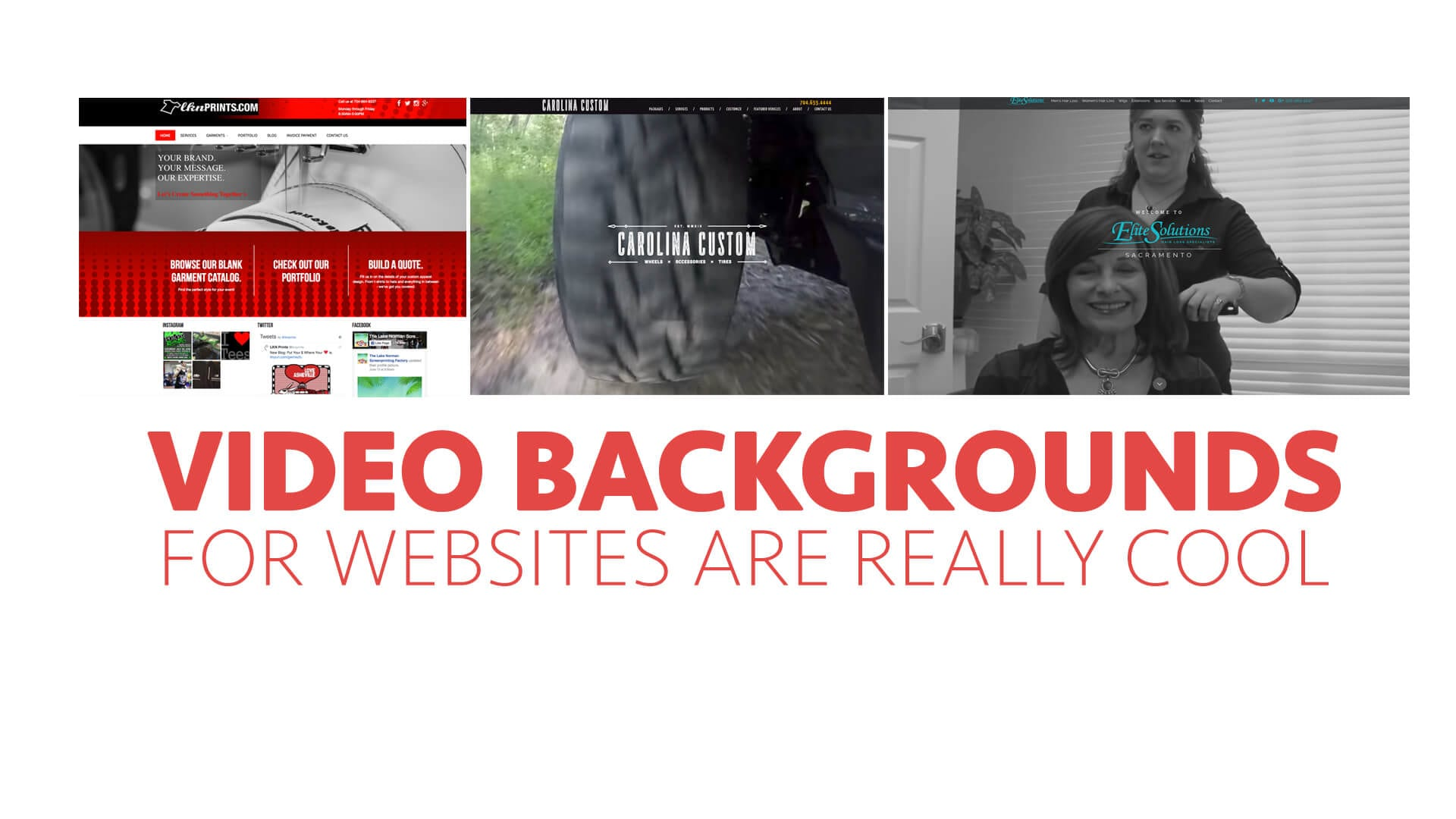 Video Backgrounds for Websites are really Cool!
