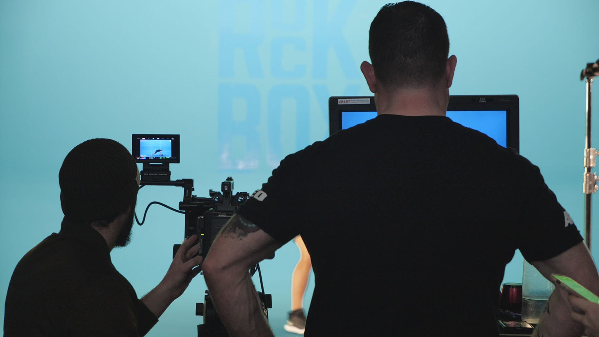Behind the Scenes - RockBox Fitness Studio Shoot 1