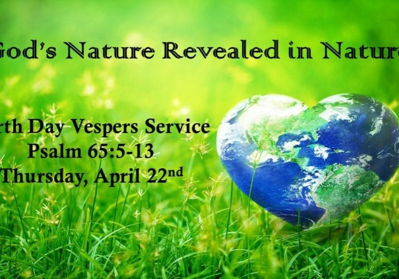 4.22.21 Earth Day Vespers Livestream pic