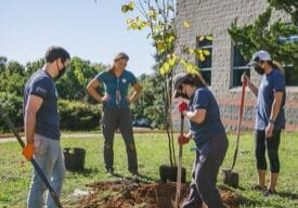 Earth Day Tree Planting 2021